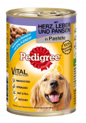 Pedigree Heart, Liver and Tripe in Pate 400 g
