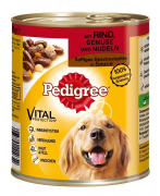 Pedigree Juicy Slices Beef, Vegetables and Noodles 800 g
