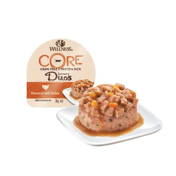 Wellness Tray Core Savoury Duos with Turkey 79 g