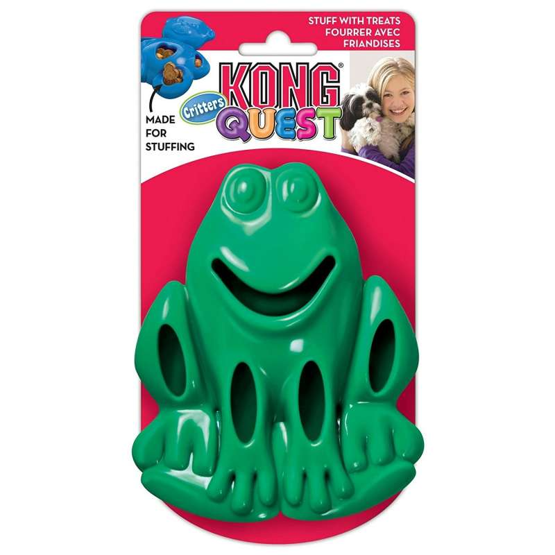KONG Quest Critters Frog