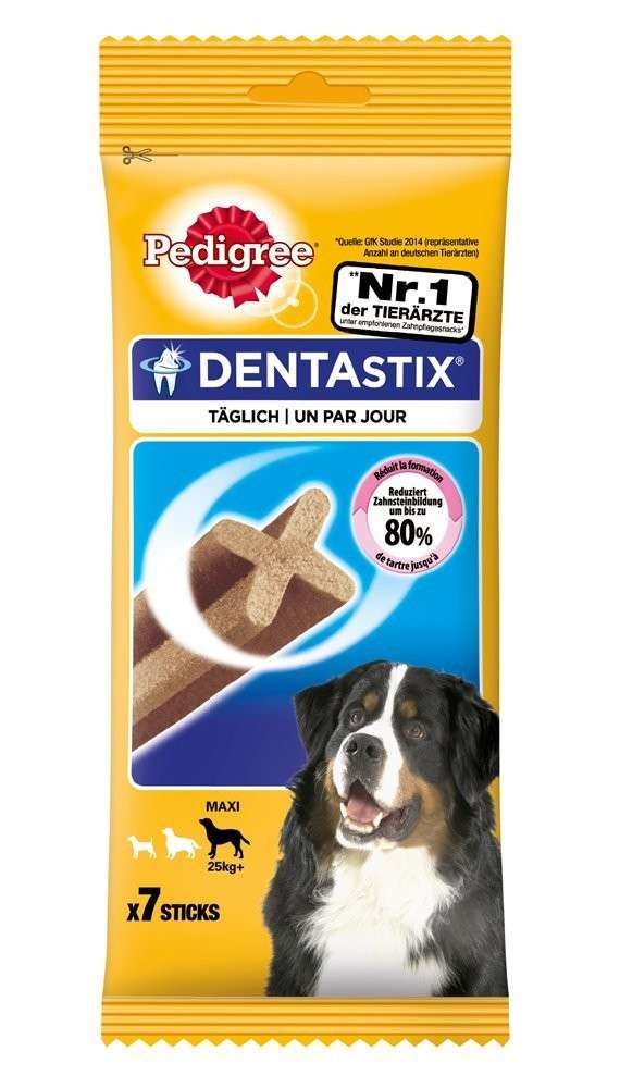 Pedigree Friandises bucco-dentaires Dentastix Maxi pour grand chien 270 g