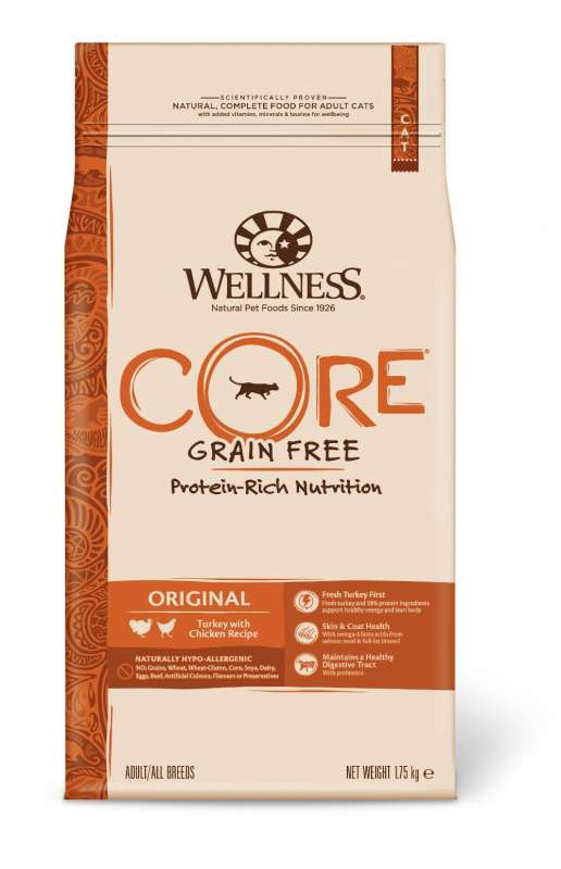 Wellness Core Original Turkey with Chicken Recipe 300 g, 1.75 kg