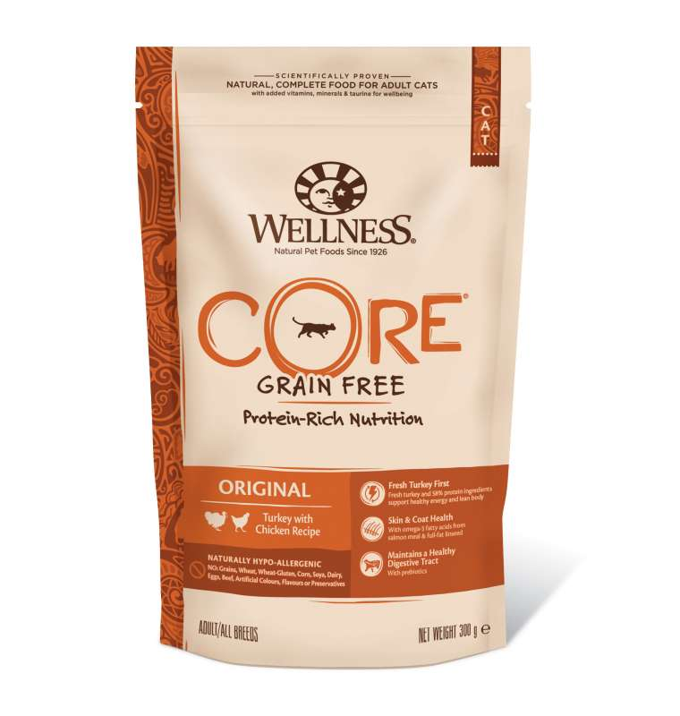 Wellness Core Original Turkey with Chicken Recipe 300 g, 1.75 kg test