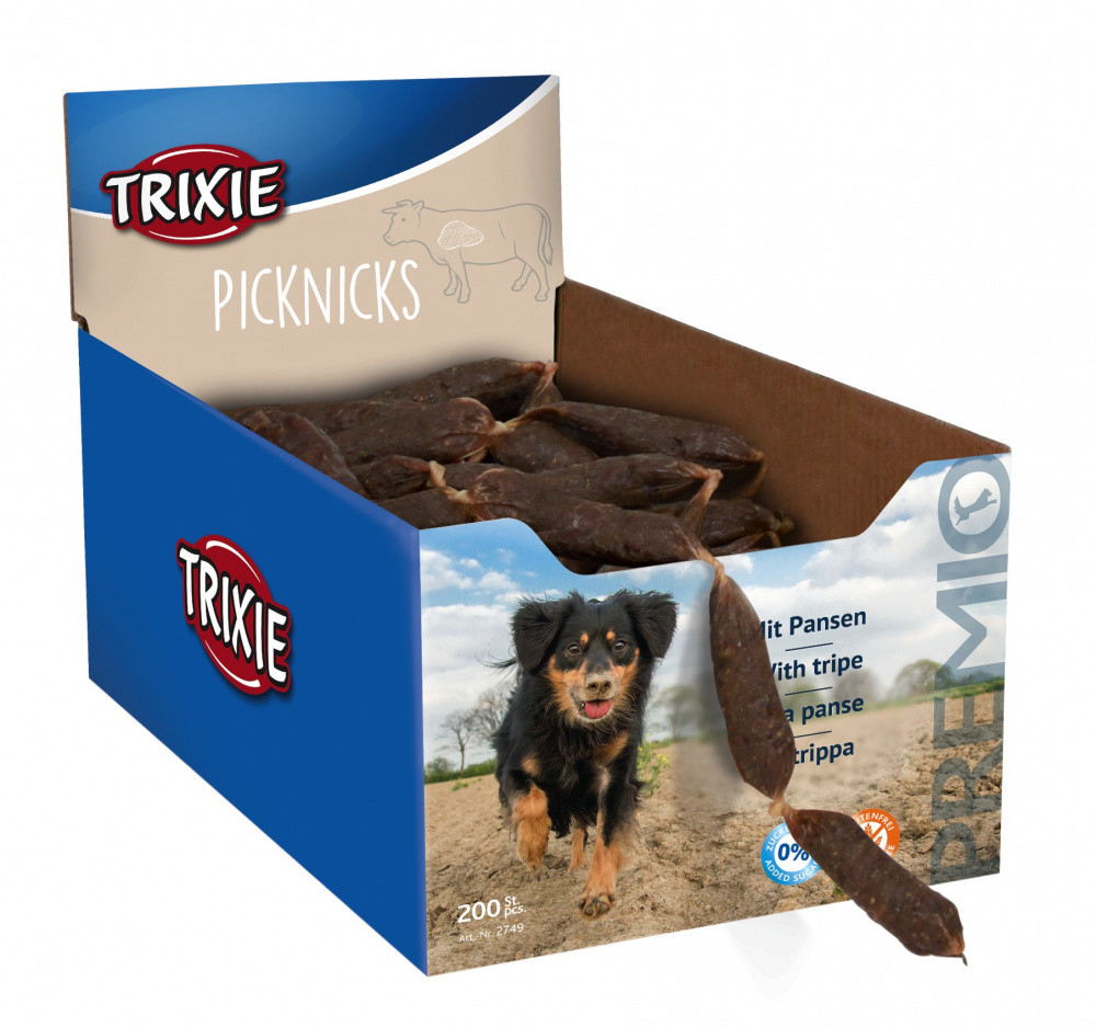Trixie Premio Picknicks Sausages Tripe 200x8 g