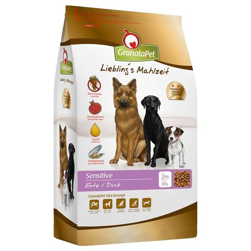 GranataPet Adult Sensitive Duck 4 kg, 10 kg