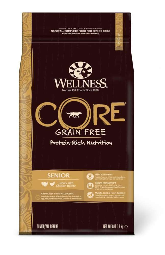 Wellness Core Senior Pavo con Pollo 1.8 kg