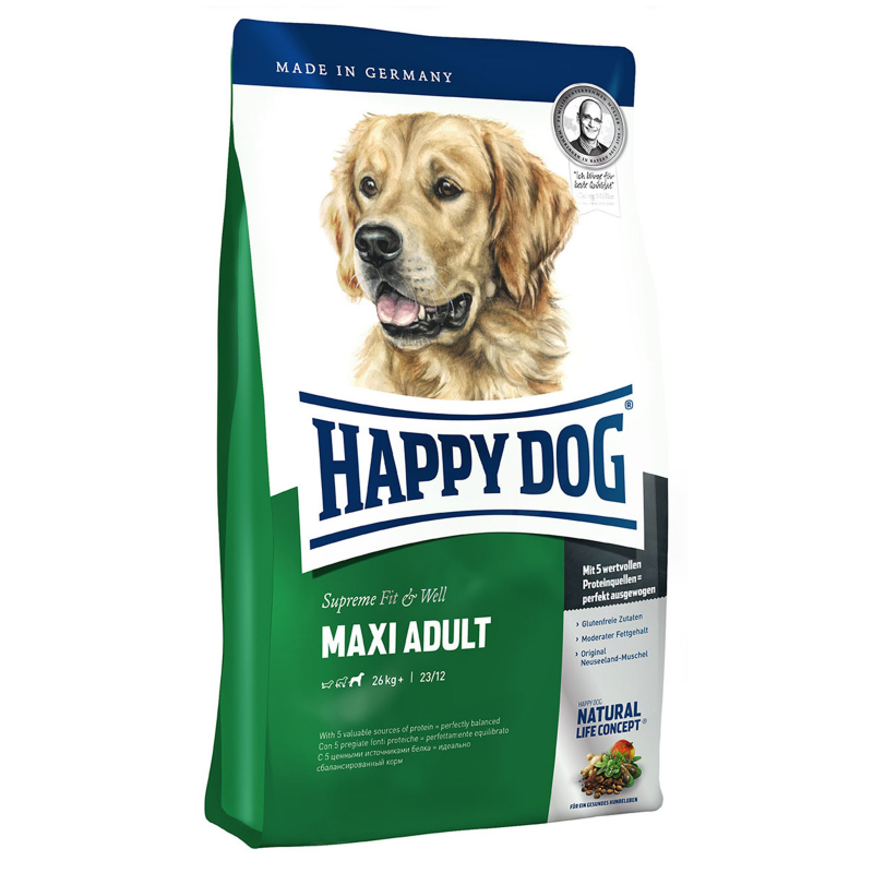 Happy Dog Supreme Fit Well Maxi Adult 1 Kg Dry Dog Food