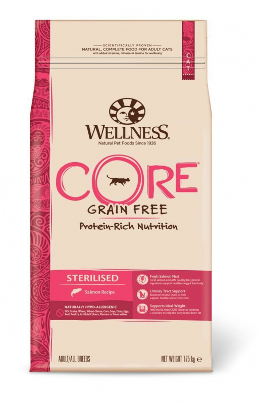 Wellness Core Sterilised Salmon Recipe 1.75 kg