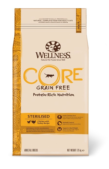 Wellness Core Sterilised Turkey with Chicken Recipe 1.75 kg