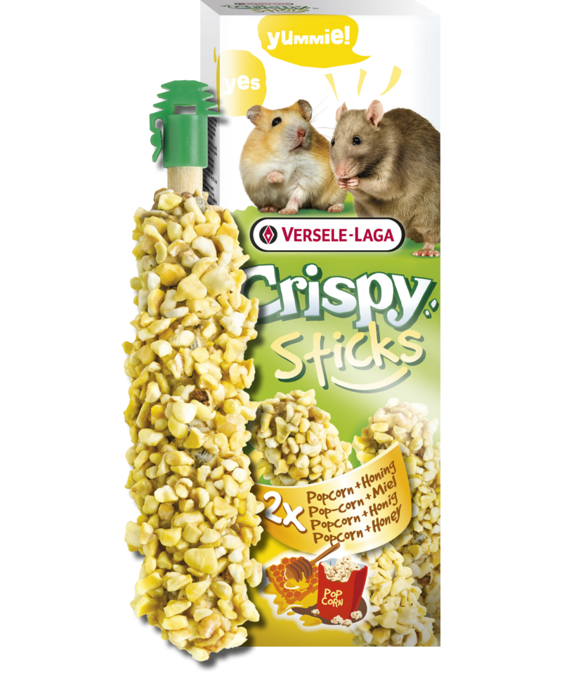 Versele Laga Crispy Sticks Popcorn & Noten 110 g