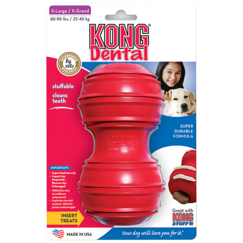 KONG Dental Dog Toy  0035585121017 opiniones