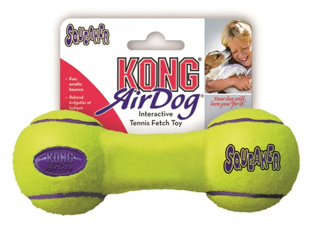 KONG AirDog Dumbbell Lima 0035585775272 opiniones
