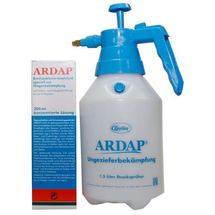 ARDAP Concentrate with 1.5 L Pressure Sprayer 4019181077875 erfarenheter