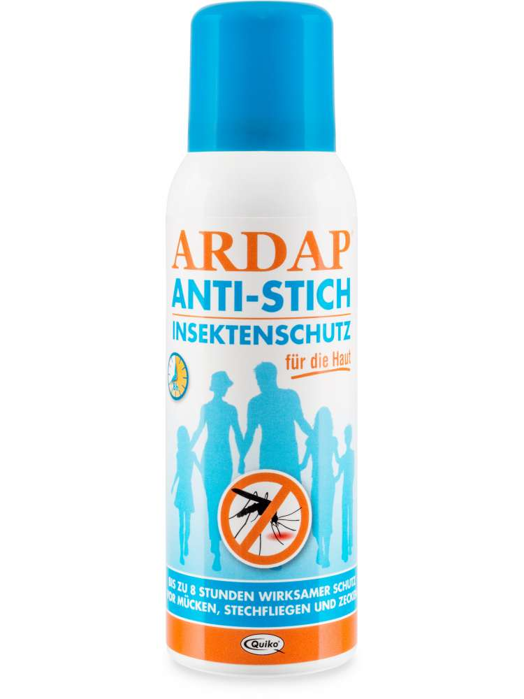 ARDAP Spray Repetente, Protección Contra Insectos 100 ml
