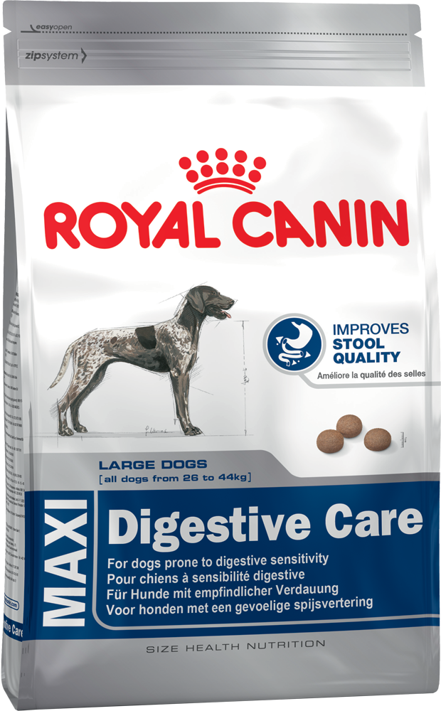 Royal Canin Size Health Nutrition - Maxi Digestive Care 15 kg, 3 kg köp billiga på nätet