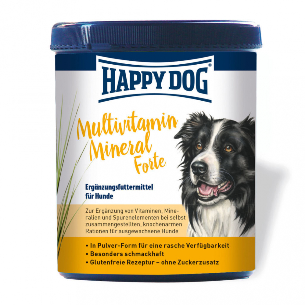 Happy Dog Multivitamin Mineral 1 kg, 400 g osta edullisesti