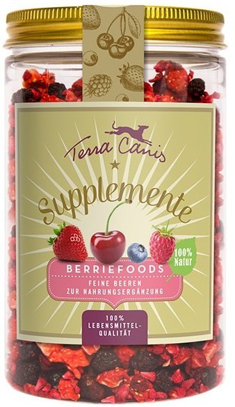 Terra Canis Supplement Berriefoods, Fine Berries 50 g con uno sconto
