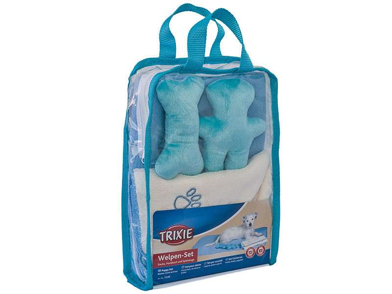 Trixie Puppy Set  Azul 76x50 cm