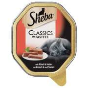 Sheba Classics in Pastete Beef and Chicken Art.-Nr.: 61725
