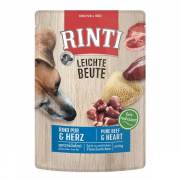 Leichte Beute with pur Beef and Hearts 400 g fra Rinti