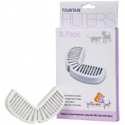 Replacement filters Carbon, 3 pieces