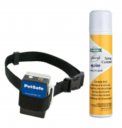 Anti-Bark Spray Collar,  60 cm, svart 60 cm