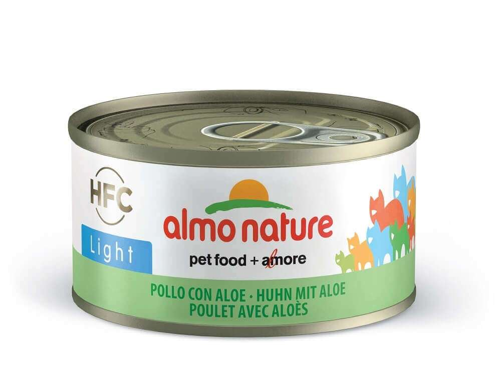 Almo Nature HFC Light - Chicken with Aloe 70 g 8001154126747 anmeldelser