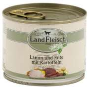 Landfleisch Pur Lamb and Duck with Potato Can 195 g