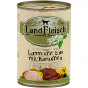 Landfleisch Pur Lamb and Duck with Potato Can 400 g