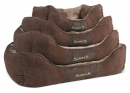 Scruffs Chester Box Bed Dark brown