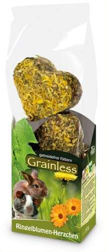 JR Farm Grainless Little hearts Marigold 105 g 4024344147692