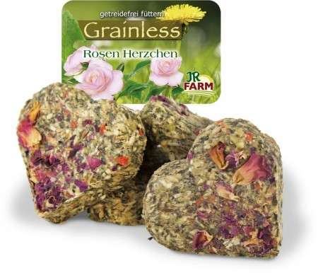 JR Farm Grainless Hearts-Rose blossoms 105 g