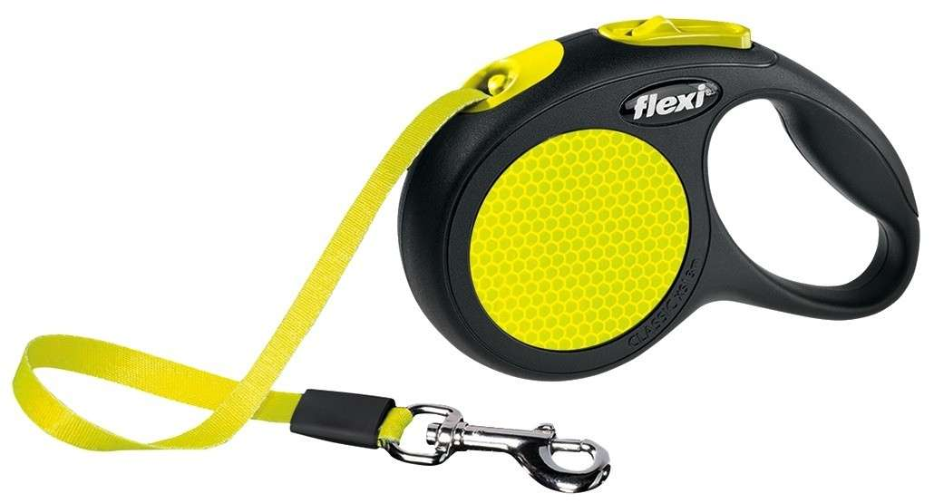 Flexi New Neon Rollijn met Band  4000498023501