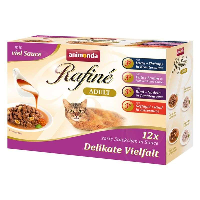 Animonda Rafiné Adult in Multipack with sause 12x100 g
