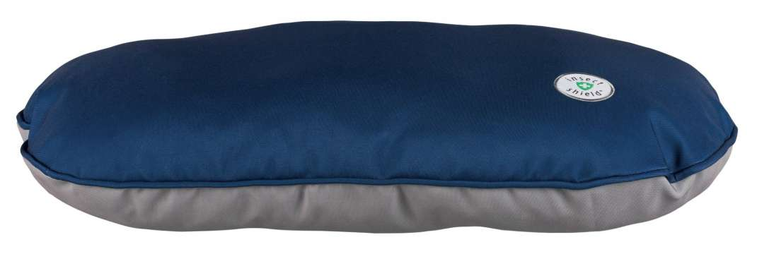 Trixie Cuscino Insect Shield, ovale  Blu scuro 110x70 cm