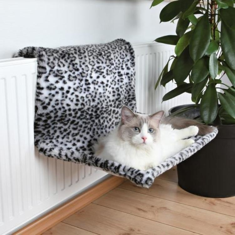 Trixie Radiator Bed Plush, Snow Leopard EAN: 4011905431482 reviews