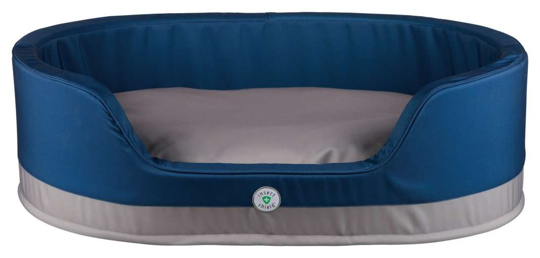 Trixie Cuccia Insect Shield, ovale  Blu scuro 100x75 cm