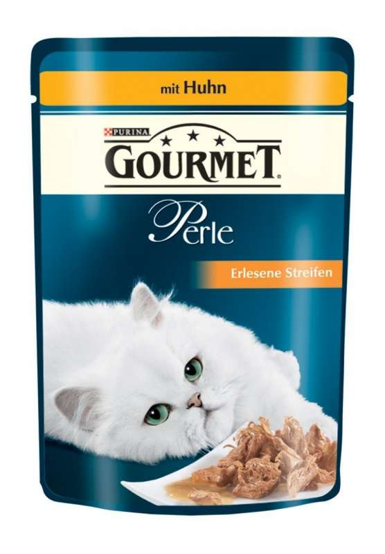 Purina Gourmet Perle Mini Filets in Gravy with Chicken Pouch 85 g order cheap