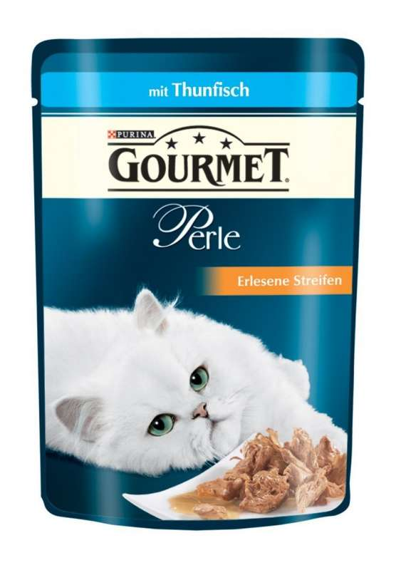 Purina Gourmet Perle Mini Filets in Gravy with Tuna Pouch EAN: 4000487225954 reviews