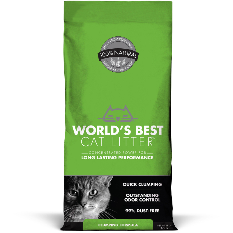 World's Best Cat Litter Clumping GREEN Lime 12.7 kg buy online