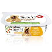 Purina Beneful Gourmet Menu with Chicken, Carrots & Beans 200 g