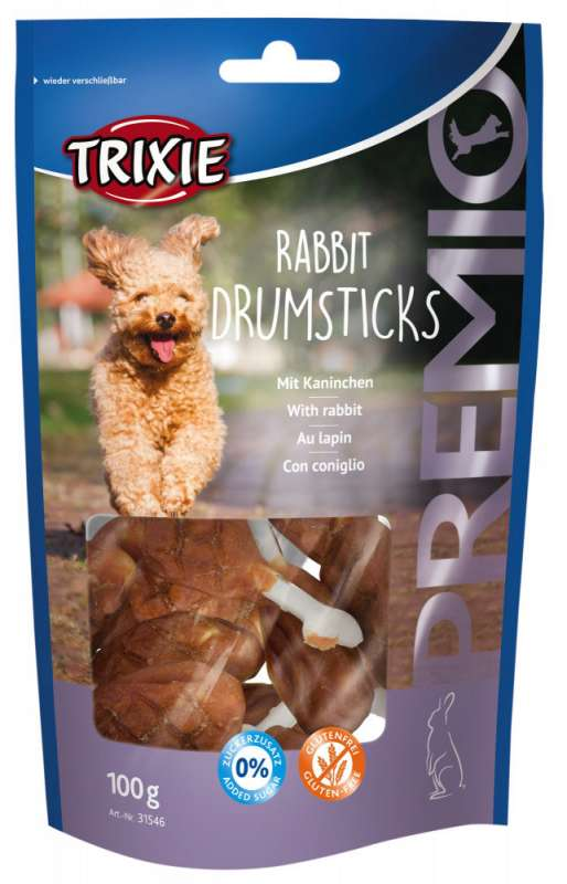 Trixie PREMIO Rabbit Drumsticks 100 g 4011905315461 ervaringen