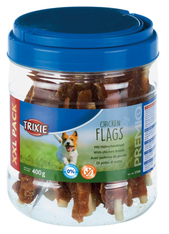 Trixie Premio Chicken Flags 400 g 4011905317021