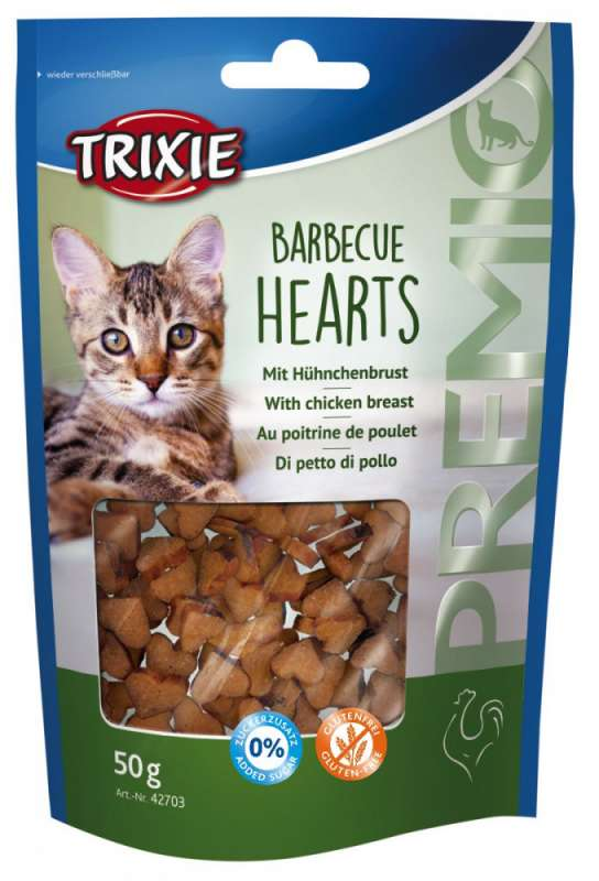 Trixie Premio Barbecue Hearts 50 g