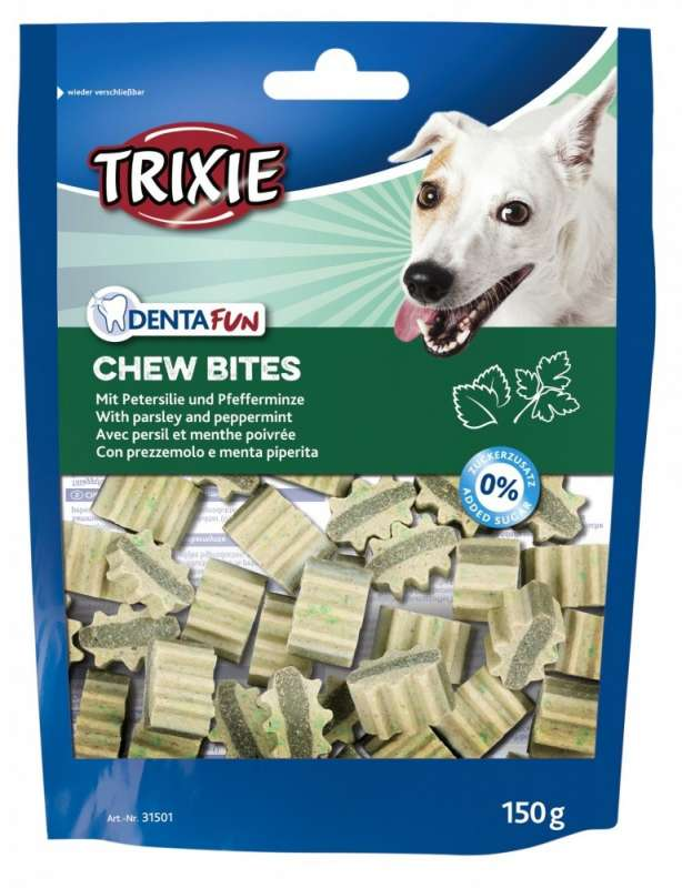 Trixie Denta Fun Chew Bites 150 g 4053032002654