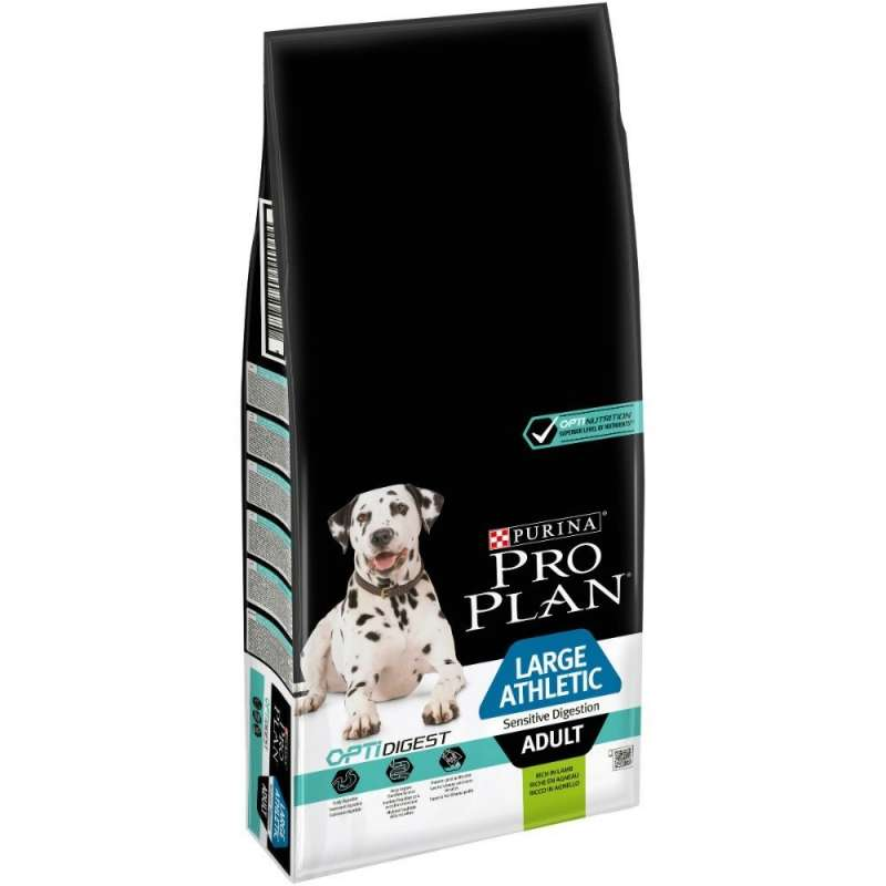Purina Pro Plan Dog Large Athletic Adult Sensitive Digestion Optidigest con Agnello 7613035415591 opinioni