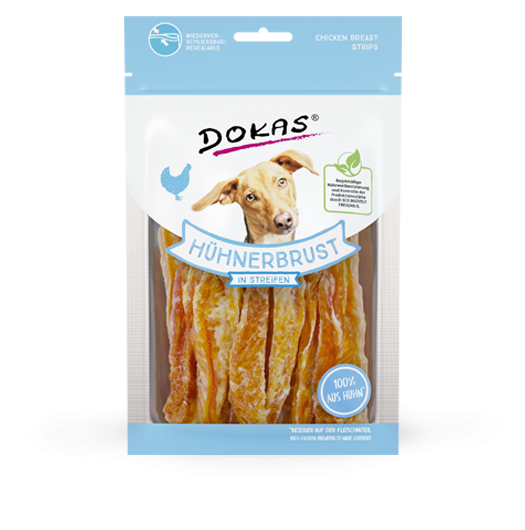 Dokas Chicken Breast Strips 70 g