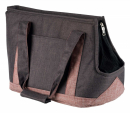 Sac Hailey, gris/rose 22x31x45 cm