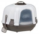 Trixie Maro Corner Litter Tray, with Hood 60×43×52 cm