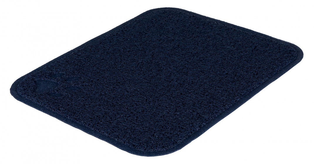 Trixie Litter Tray Mat rectangle Marinblå 37х45 cm